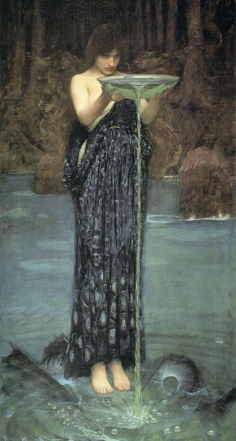 Circe-Invidiosa_John-William-Waterhouse